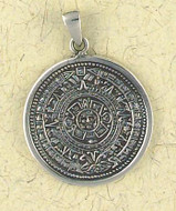 Maya - Mayan Calendar Pendant on Cord - Photo Museum Store Company