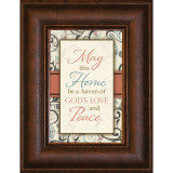 May This Home - Mini Framed Print / Wall Art - Photo Museum Store Company