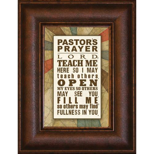 Pastor's Prayer - Mini Framed Print / Wall Art - Photo Museum Store Company