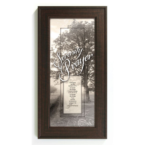 Serenity Prayer - Framed Print / Wall Art - Photo Museum Store Company