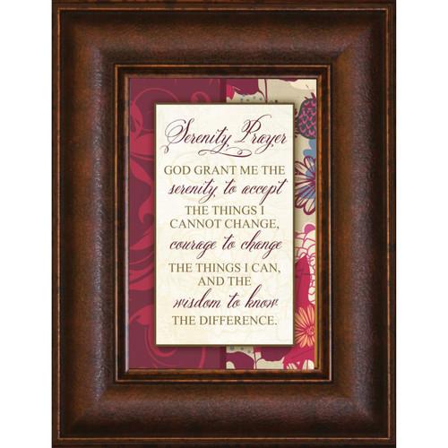 Serenity Prayer - Mini Framed Print / Wall Art - Photo Museum Store Company