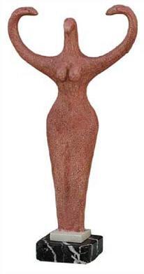 Nile River Goddess - Brooklyn Museum of Art, New York ,  4,000BC - Photo Museum Store Company
