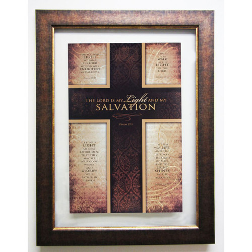 Salvation Double Glass Matted - Framed Print / Wall Art - Photo Museum Store Company