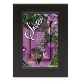 Sister-Gift From God Shadow Box - Framed Print / Wall Art - Photo Museum Store Company