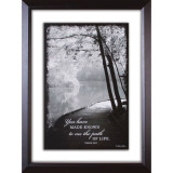 Path of Life Double Glass Matted Framed Art - Photo Museum Store Company