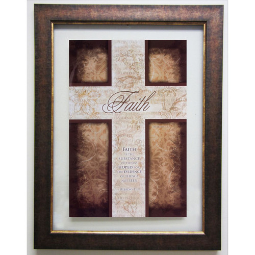 Faith Double Glass Matted - Framed Print / Wall Art - Photo Museum Store Company