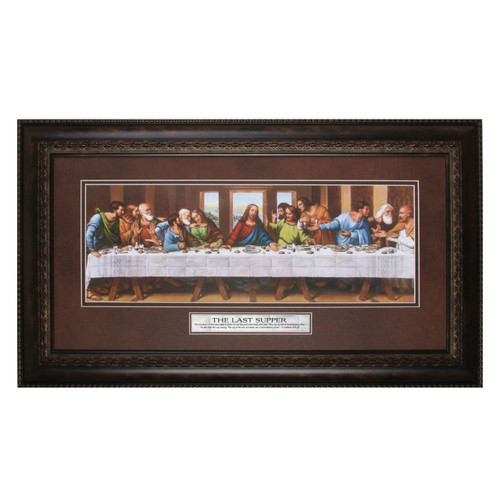 The Last Supper, The Lord - Framed Print / Wall Art - Photo Museum Store Company