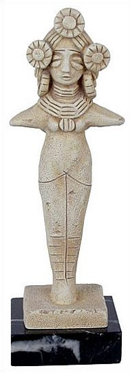 Harvest goddess from Mohenjo Daro : National Archaeological Museum, 2600 BC - Photo Museum Store Company