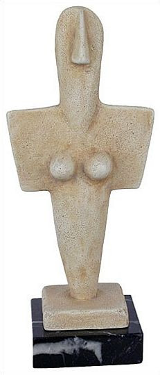 Turriga Mother Goddess : National Archaeological Museum of Cagliary, 3200 - 2800 BC - Photo Museum Store Company
