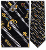 Medieval Swords Necktie - Museum Store Company Photo