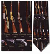 Classic Rifles & Revolvers Necktie - Museum Store Company Photo