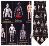 Renaissance Armor Necktie - Museum Store Company Photo