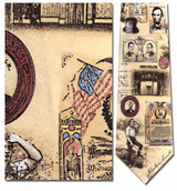 Abraham Lincoln, Life of Necktie - Museum Store Company Photo