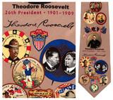 Theodore Rossevelt Necktie - Museum Store Company Photo