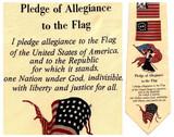 Pledge of Allegiance Necktie - Museum Store Company Photo