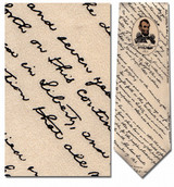 Lincoln's Gettysburg Address Necktie - Museum Store Company Photo
