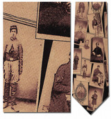 Portraits of Civil War Soldiers Necktie - Museum Store Company Photo