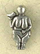 Venus of La Ussel Pendant on Cord : The Goddess Collection - Photo Museum Store Company