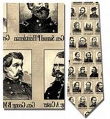 Portraits of Union Generals Necktie - Museum Store Company Photo