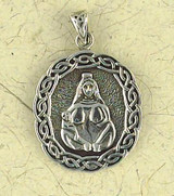 Fertility Goddess Pendant on Cord : The Goddess Collection - Photo Museum Store Company