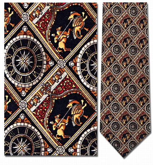 St. George & the Dragon Necktie - Museum Store Company Photo