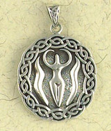 Nile Goddess Pendant on Cord : The Goddess Collection - Photo Museum Store Company