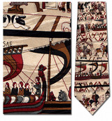 Bayeux Tapestry Necktie - Museum Store Company Photo