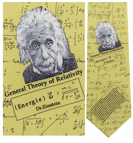 Albert Einstein Necktie - Museum Store Company Photo