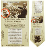 Martin Luther King Jr. Necktie - Museum Store Company Photo