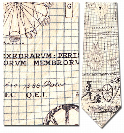 Architect Necktie - Museum Store Company Photo