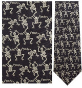 Skeletons Necktie - Museum Store Company Photo