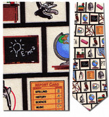 Teacher - Tools of the Trade Necktie - Museum Store Company Photo