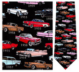 1950's Classic Cars - Retro Series Necktie - Museum Store Company Photo