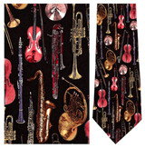 Orchestra - Retro Series Necktie - Museum Store Company Photo