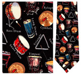 Percussion - Retro Series Necktie - Museum Store Company Photo
