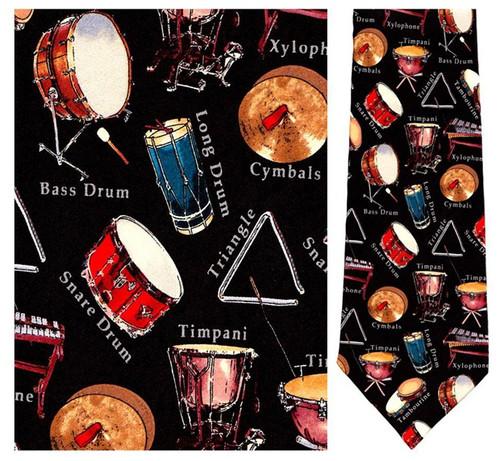 Percussion - Retro Series Necktie - Museum Store Company Photo