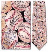 Baseball Signatures Necktie - Museum Store Company Photo