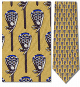 Lacrosse Sticks & Balls Necktie - Museum Store Company Photo