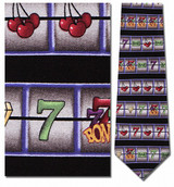 Slot Machine Necktie - Museum Store Company Photo