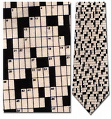 Crossword Puzzle- no Answers Necktie - Museum Store Company Photo