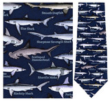 Sharks Necktie - Museum Store Company Photo