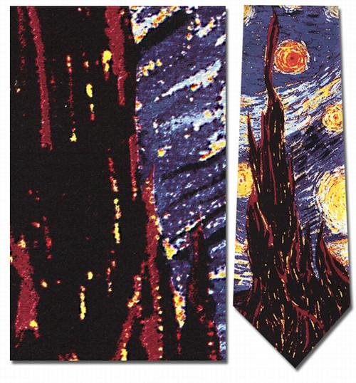 Van Gogh - Starry Night Necktie - Museum Store Company Photo