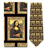 Mona Lisa Necktie - Museum Store Company Photo