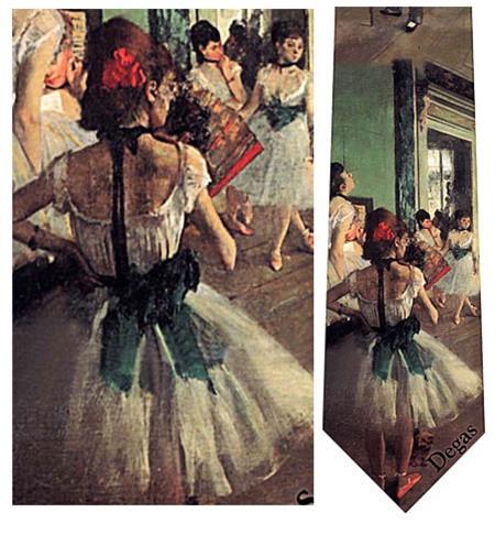 The Dance Class, 1873 - Degas Necktie - Museum Store Company Photo