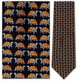 Turtles Small Repeat Necktie - Museum Store Company Photo
