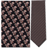 Squirrels Repeat Necktie - Museum Store Company Photo