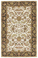Isphan - Beige / Black Rug : Persian Tufted Collection - Photo Museum Store Company