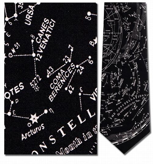 The Constellations Necktie - Museum Store Company Photo