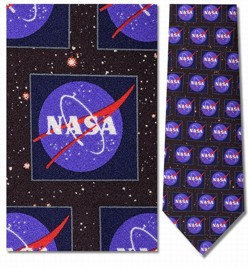 NASA Logo Necktie - Museum Store Company Photo