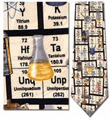 Chemistry - Periodic Table of Elements Necktie - Museum Store Company Photo